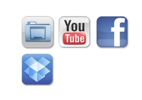 upload to youtube, facebook, dropbox